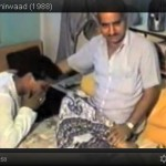 Guruji giving Aashirwaad